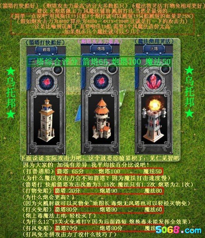 家园守卫战箭塔魔法塔防御塔哪种塔最好 箭塔魔法塔防御塔详细分析