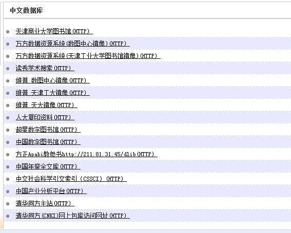 天津某大学图书馆远程访问账号 万方、维普、独秀可用